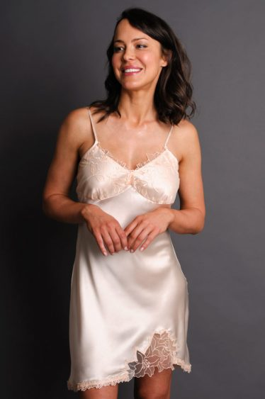 Enchantment Silk Nightgown Cream