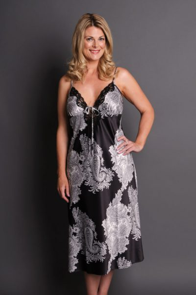 Illusion Long Nightgown