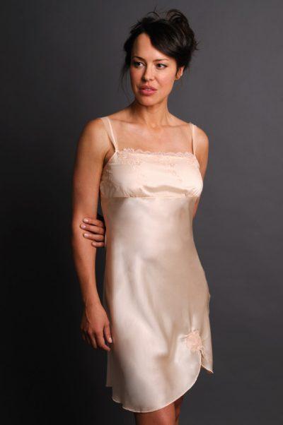 Ignite Nightgown Front Peach