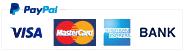 payment options paypal visa mastercard american express
