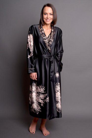 Angelique Robe black front