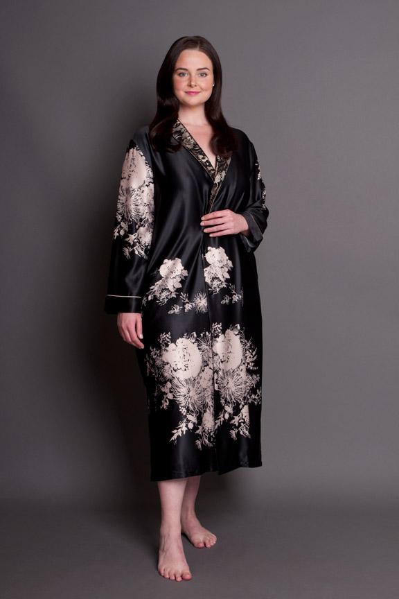 Angelique Robe & PJ set Plus Size | Envy Nightwear