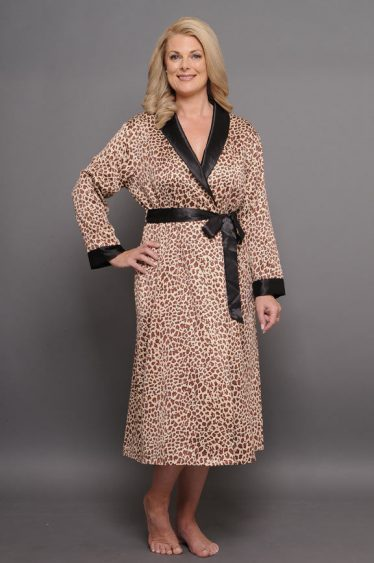 Rapture calf length robe front