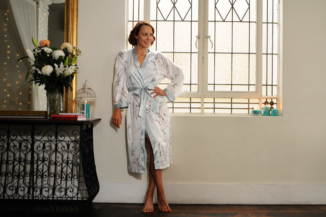 australian nightwear trends 2019 elise satin robe