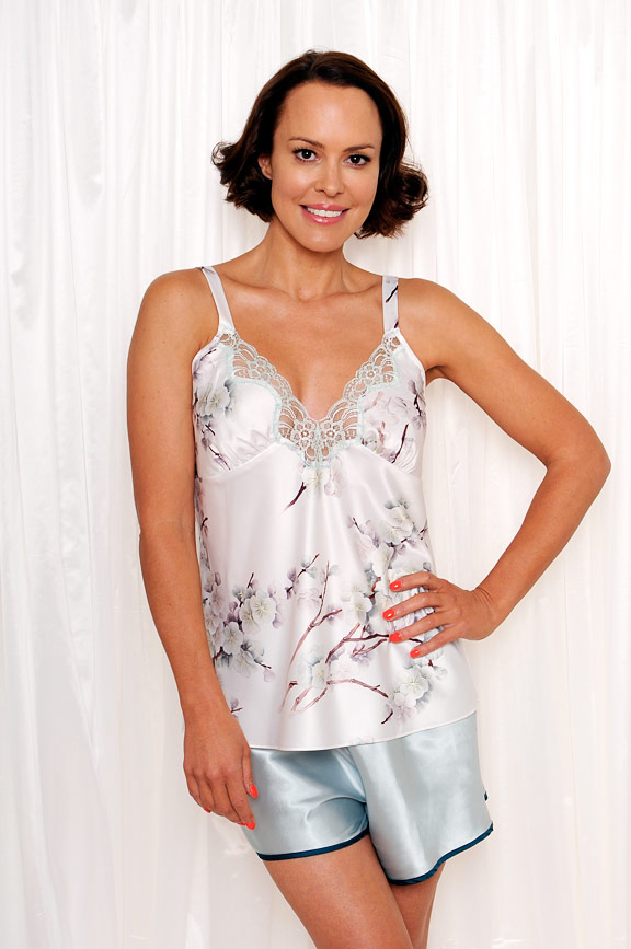 eff73fda746 Elise Satin Cami & Shorts Set