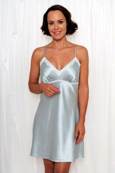 ed8769b120f Maxime Satin Short Nightgown