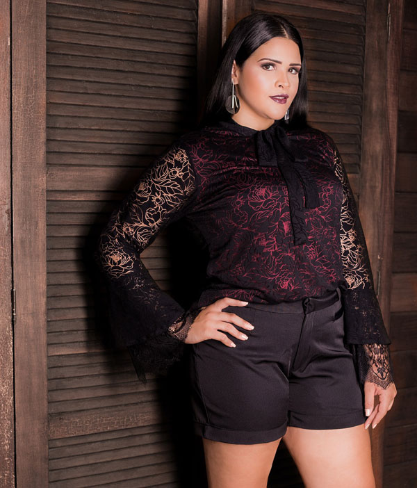 5 outfits with plus size shorts that you will love 3