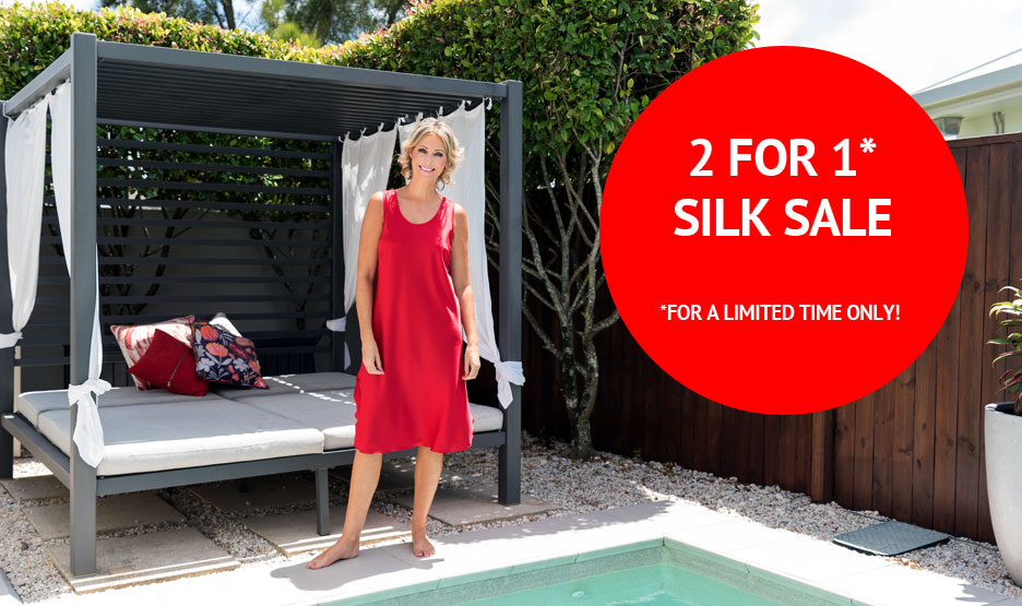 2 For 1 Silk Sale For a Limited Time Only